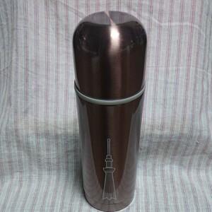 ステンレスボトル 350ml 小豆色 スカイツリー ステンレスボトル