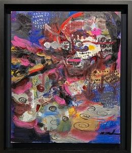 過去最高110万円記録!8月ロンドン現代アート美術館サーチギャラリーでアートフェア参加!英国国立美術館収蔵画家、田中拓馬 真作保証
