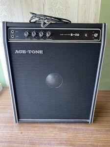 ACE TONE B-50 エーストーン ベースアンプ 音出し確認済み