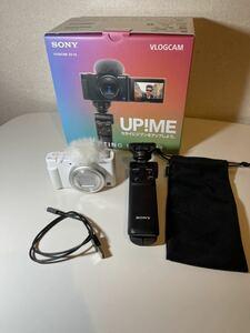 【美品】SONY vlogcam ZV-1G White シューティンググリップキット【数回使用】