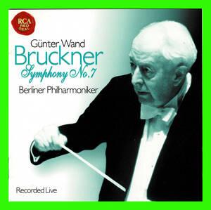 値下げ 未使用盤面キズなしCD ギュンター ヴァント&ベルリン フィル ブルックナー 交響曲第7番(ハース版) デジタルライヴ録音 BVCC-34030