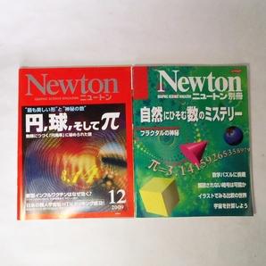 数学関連雑誌 Newton 二冊 送料込