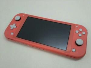 大特価 動作品 本体のみ【管理番号3.5】Nintendo Switch Lite ニンテンドースイッチライト コーラル