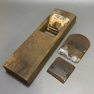 葦51)在銘 鉋 かんな 大工道具 古道具
