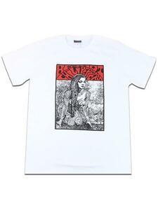 新品 ロックTシャツ RED HOT CHILI PEPPERS レッドホットチリペッパーズ レッチリ 裸の女 バンドT メンズ レディース 白色 wof049 XLサイズ