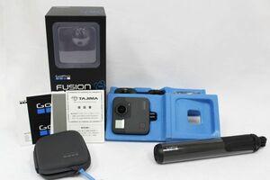 GoPro Fuison ゴープロ フュージョン BLACK ブラック 360°カメラ アクションカメラ カメラ 付属品あり SBDC1 210728A(NT)