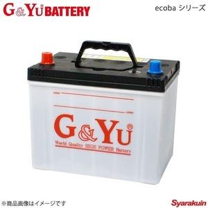 G&Yu BATTERY/G&Yuバッテリー ecobaシリーズ プレミオ DBA-ZRT261 14/9~ 新車搭載:55D23L(寒冷地仕様) 品番:ecb-80D23L×1