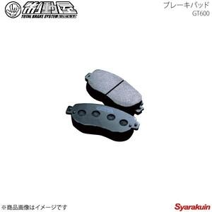 制動屋/セイドウヤ ブレーキパッド GT600 リア 911 997 3.8 CARRERA 4S PORSCHE/ポルシェ 99Z9S7 SDY1075