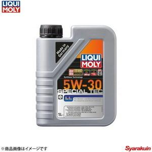 LIQUI MOLY リキモリ スペシャルテックLL 5W30 4ストローク車用エンジンオイル 1リットル 20901 数量:1