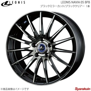 LEONIS NAVIA 05 スズキ SX4 Sクロス YA22S/YB22S ボルト車 17/7- アルミホイール 1本 【18×7.0J 5-114.3 INSET47 BPB】