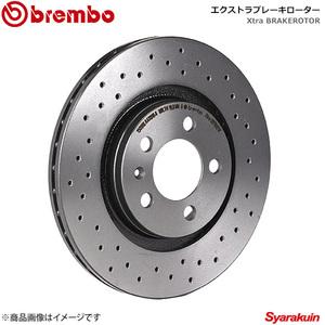 brembo Brembo brake rotor PEUGEOT/ Peugeot RCZ T7R5F02 10/07~ extra type rear left right set 08.8682.1X