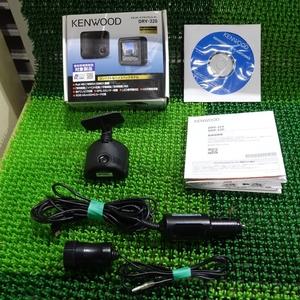 『psi』 ケンウッド DRV-320 フルHD画質 GPS内蔵ドライブレコーダー 動作確認済 電源取出しソケット & MicroSD 8GB付