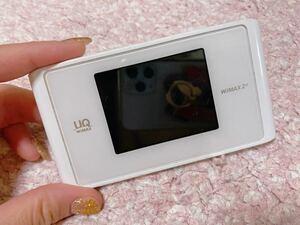 ポケットWi-Fi Speed Wi-Fi NEXT WX04 ホワイト UQモバイル モバイルルーター カシモ