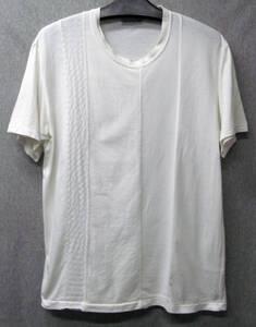 イッセイミヤケ メン:布地切替 Tシャツ M ( Issey Miyake Men's Tee M