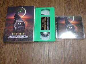 CO60/動作品/TWO-MIX☆VISIONFORMULA/CD+VHS