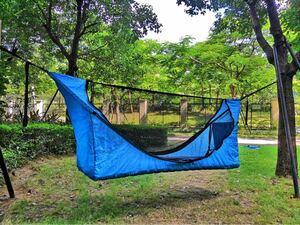 フルフラット ハンモック テント エアマット フライシート 蚊帳 セット 新品未使用