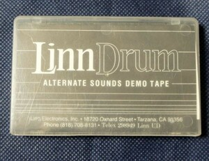 リンドラム Linn Drum ALTERNATE SOUNDS DEMO TAPE デモテープ▲レターパックライト▲レア 本物