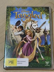 ラプンツェル 海外盤 DVD