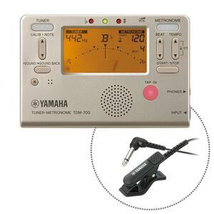 * YAMAHA  Yamaha  TDM-700GM  золото   тюнер / Метроном  +  Связаться Майк  набор   *  Новый товар  Стоимость доставки до Японского склада компании JPLOT  включенный
