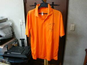 女性用 ポロシャツ オレンジ色 半袖 Lサイズ 新品