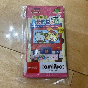 【新品・未開封】どうぶつの森 amiiboカード サンリオキャラクターズ コラボ 復刻版 5パックセット