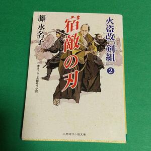 時代小説「宿敵の刃 :火盗改「剣組」2」藤水名子 (著)
