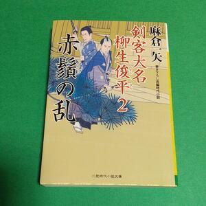 時代小説「赤鬚の乱 :剣客大名 柳生俊平2」麻倉一矢 (著)