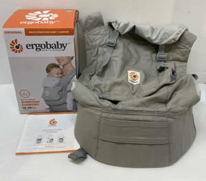 CZ0086c 展示品 美品 ergobaby original エルゴベビーオリジナル 抱っこ紐 4-48か月