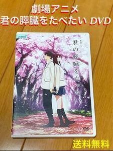 【送料無料】劇場アニメ 君の膵臓をたべたい DVD