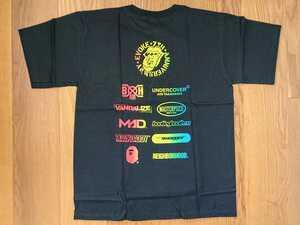 【即決】奇跡のデッドストック 2006 EVOKE 10ネーム コラボT ネイバーフッド NEIGHBORHOOD エイプ APE (ヒューマンメイド HUMAN MADE)