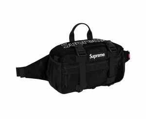 新品国内正規品 Supreme 19AW Waist Bag Black シュプリーム ウエストバッグ ブラック ボディーバッグ ベルトバッグ 19FW