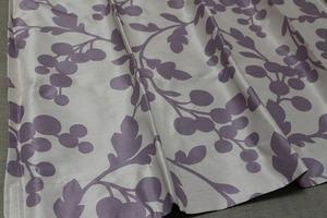 ☆1級遮光デザインカーテン:200×200cm:1枚 PA/木の実 遮熱、遮音☆c896