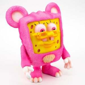 新品未開封 THE IT BEAR BOB BY MILKBOY TOYS SpongeBob UNBOX INDUSTRIES ソフビ スポンジボブ ミルクボーイ pink ピンク