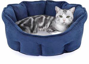 猫ベッド 猫クッション 犬小屋 猫ハウス 暖かい 小型犬 キャット ベッド 寝袋