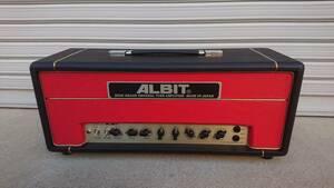 【ALBIT】アルビット国産ハイエンドチューブギターアンプヘッド【A1】