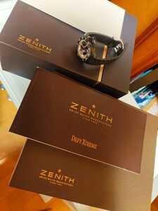 【美品 激安】定価115万円! ゼニス デファイ セット1式 エクストリーム パワーリザーブ oh済!メンズ腕時計 ロレックス ウブロ