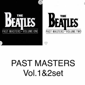 ビートルズ PAST MASTERS vol.1&2セット!THE BEATLES PAST MASTERS 1&2 ビートルズ