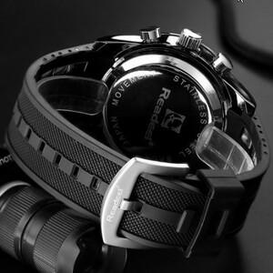 【未使用】高級ブランド腕時計 男性用スポーツ腕時計 防水 LED デジタルクォーツメンズミリタリー腕時計 時計男性レロジオ
