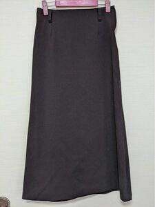 タイトスカート ロングスカート カラー 濃いブラウン ウエスト66 ヒップ90
