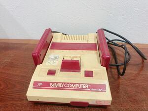 任天堂ファミリーコンピュータ[ファミコン]当時物ゲーム機本体中古品