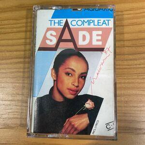 Sade「The Complete」カセットテープ インドネシア盤 東南アジア製 シャーデー レコード LP CD T-Shirt RARE!!
