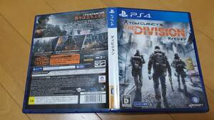 ★PS4 美品 盤面傷無 クリックP4個同梱可 ディビジョン DIVISION 300円