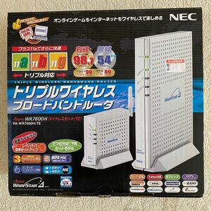 NEC WiFiルータ WR7600Hワイヤレスセット