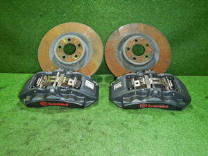 """FORD Ford MUSTANG GT Mustang GT V8 5000. original brembo """"Brembo"""" caliper * rotor front left right set"""