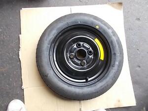 0 L900S ムーヴ スペアータイヤ T105/90D12 4H 100 ハブ 54 商品説明、送料は説明文に記載しています。☆