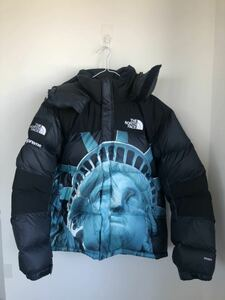 Supreme The North Face 19aw Statue of Liberty Baltoro Jacket Black シュプリーム ノースフェイス 自由の女神 M バルトロ ダウン 黒