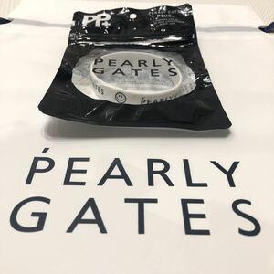 【新品】 限定品 PEARYL GATES 虫除け ラバーバンド パーリーゲイツ ブレスレット ホワイト 白 ゴルフ マスターバニー ジャックバーニー 2