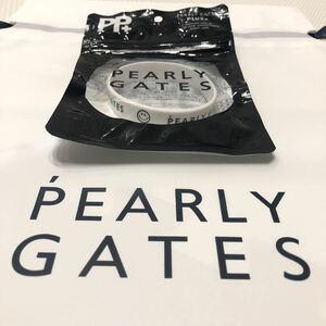 【新品】 限定品 PEARYL GATES 虫除け ラバーバンド パーリーゲイツ ブレスレット ホワイト 白 ゴルフ マスターバニー ジャックバーニー 7