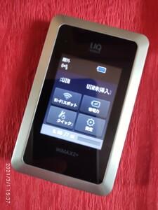 UQ Wi-Fi WALKER WiMAX 2+ HWD14 モバイルルーター