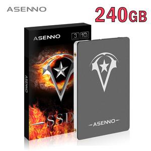 【最安値!】SSD ASENNO 240GB SATA3 / 6.0Gbps 新品 高速 3D NAND TLC 2.5インチ PC